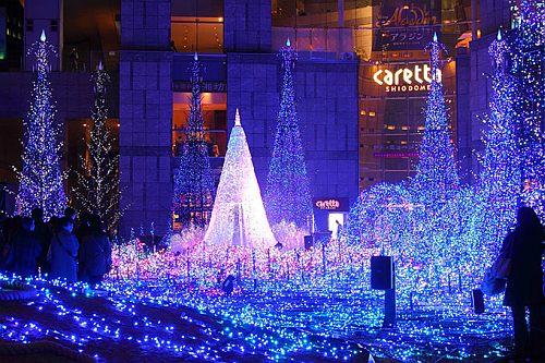 Tokyo, Japan at Christmas